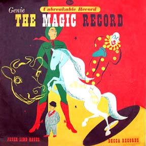 gorgeous record cover from the deCCa label