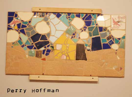 Homestead Mosaic inside the cabin... WVICA