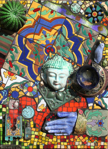 Buddha Alter Mosaic